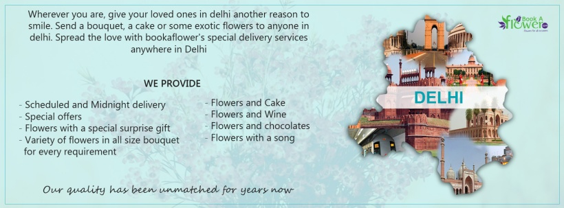 Bookaflower gift delivery delhi