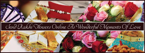 Send Rakhi Flowers Online