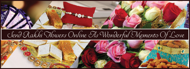 Send Rakhi Flowers Online