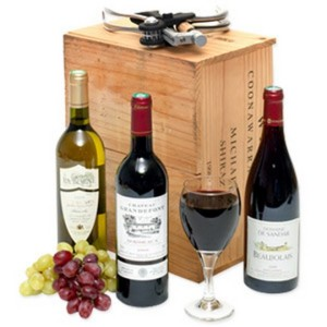 A wine hamper for the man