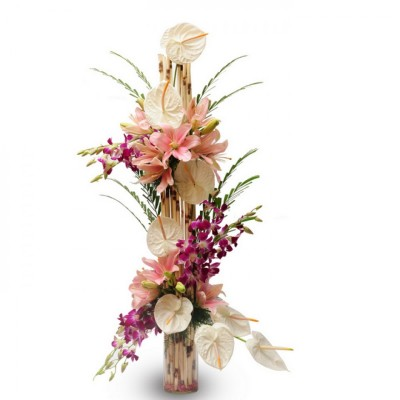 A flower arrangement for her