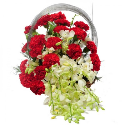 Charming flower basket for the charming princess