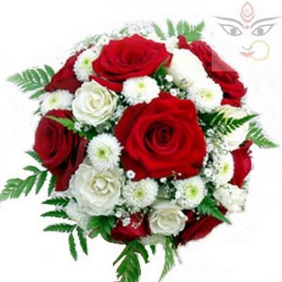 Floral surprise for Navratri